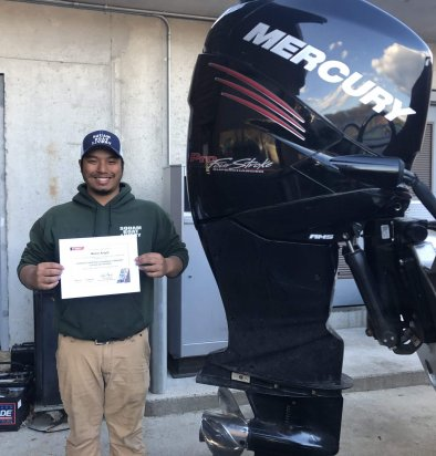 First Group of LRCC Students Complete Newly Launched Mercury Outboard Certificate